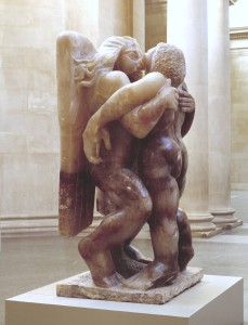 Jacob and the Angel 1940-1 Sir Jacob Epstein 1880-1959 Purchased with assistance from the National Lottery through the Heritage Lottery Fund, the Art Fund and the Henry Moore Foundation 1996 http://www.tate.org.uk/art/work/T07139